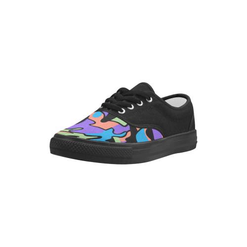 Shawnz Shoes for Men Aries Men's Canvas Shoes (Model 029)