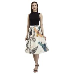 bug4 long crepe skirt Aoede Crepe Skirt (Model D16)