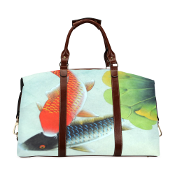 KOI FISH Classic Travel Bag (Model 1643) Remake