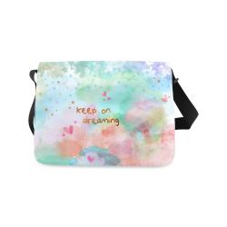 KEEP ON DREAMING Messenger Bag (Model 1628)
