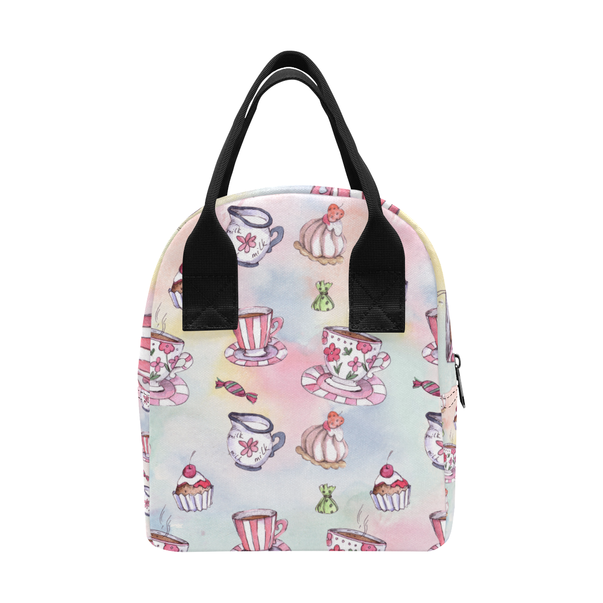 Coffee and sweeets Zipper Lunch Bag (Model 1689)