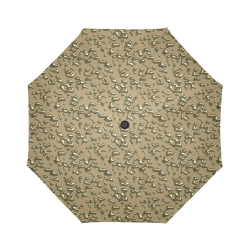 golden drops Auto-Foldable Umbrella (Model U04)