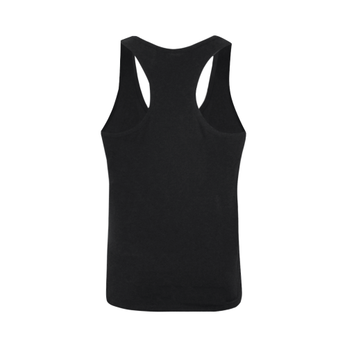 Abstract #8 S 2020 Plus-size Men's I-shaped Tank Top (Model T32)