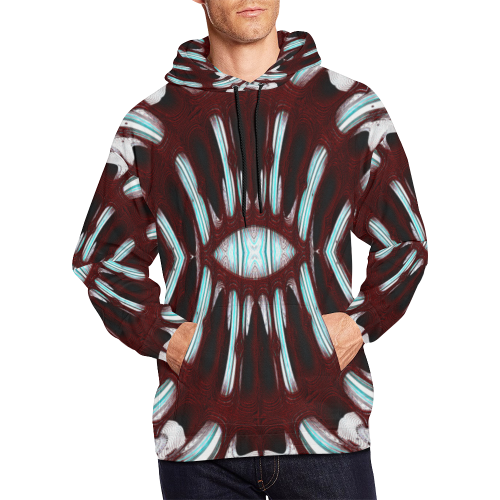 8000  EKPAH 6 low sml All Over Print Hoodie for Men/Large Size (USA Size) (Model H13)