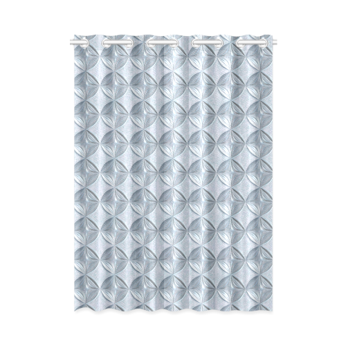 """Glass pattern on a marble background New Window Curtain 52"""" x 72""""(One Piece)"""