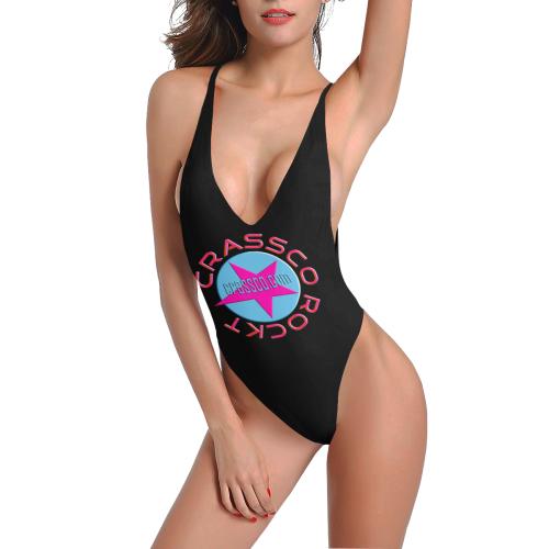 CRASSCO ROCKT Sexy Low Back One-Piece Swimsuit (Model S09)