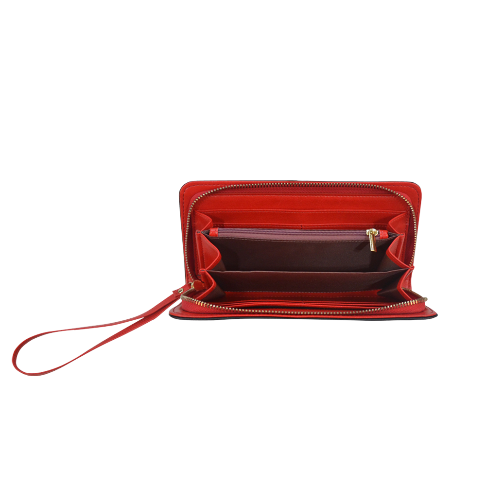 Yummy Women's Clutch Wallet (Model 1637)