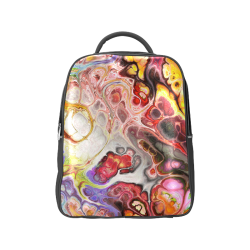 Colorful Marble Design Popular Backpack (Model 1622)