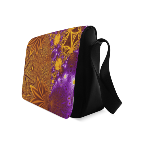 Sunset Jungle Leaves Messenger Bag (Model 1628)