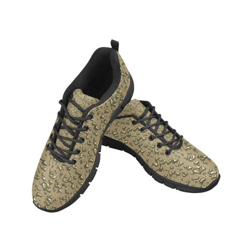golden drops Women's Breathable Running Shoes/Large (Model 055)