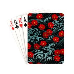 """Kurosawa Camillia Playing Cards 2.5""""x3.5"""""""