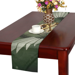 Skull in a hand Table Runner 16x72 inch