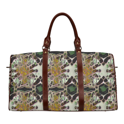 Marking Pattern Waterproof Travel Bag/Small (Model 1639)