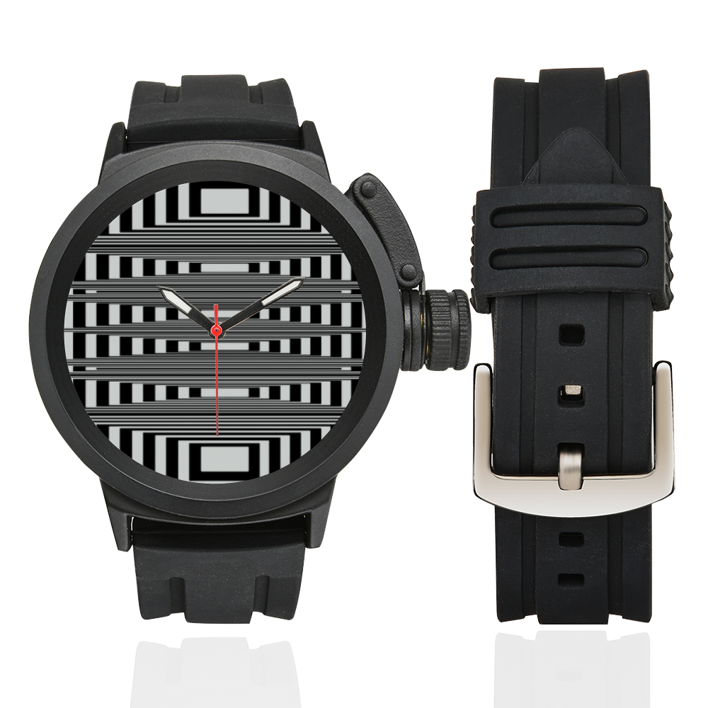 Can't make up my mind Men's Sports Watch(Model 309)