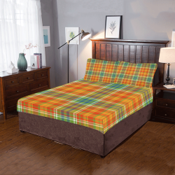 Autumn Plaids 3-Piece Bedding Set