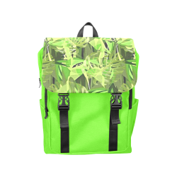 Tropical Jungle Leaves Camouflage Casual Shoulders Backpack (Model 1623)