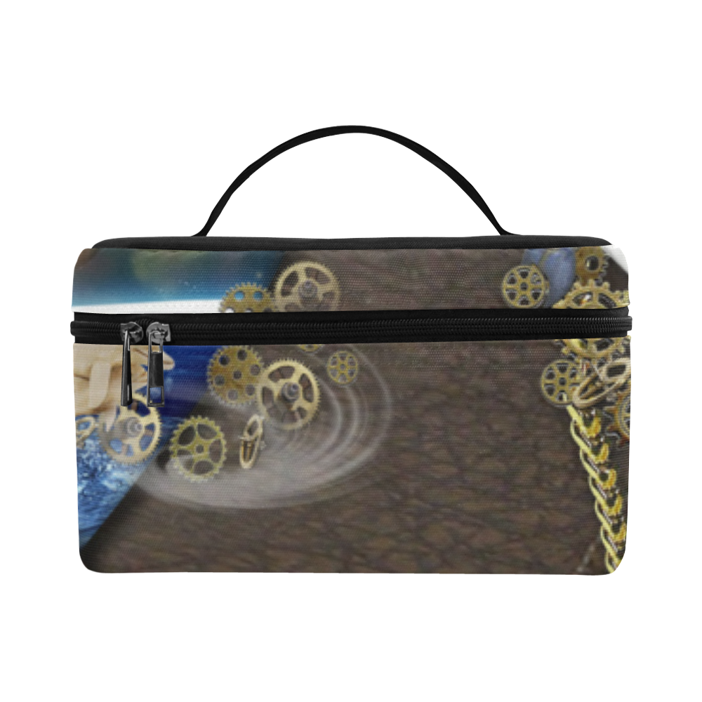 Our dimension of Time Cosmetic Bag/Large (Model 1658)