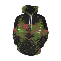 wheelVibe_vibe25 All Over Print Hoodie for Men (USA Size) (Model H13)