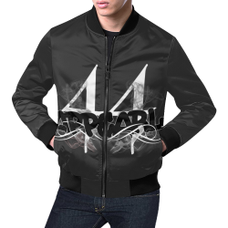 44MBF jacket blck All Over Print Bomber Jacket for Men (Model H19)