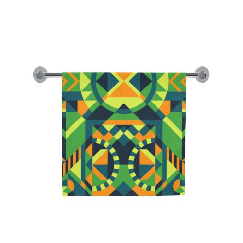 "Modern Geometric Pattern Bath Towel 30""x56"""