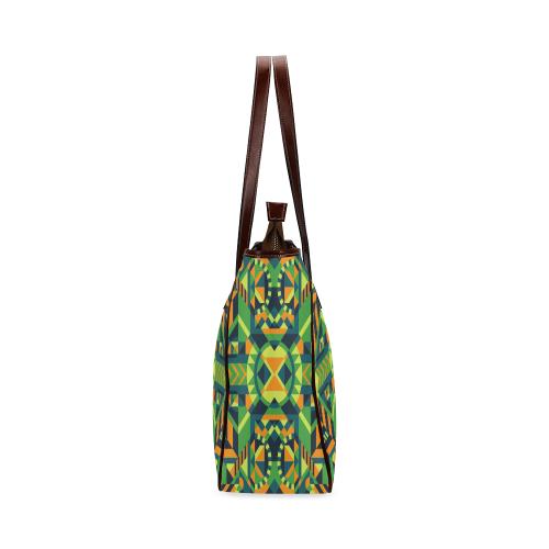 Modern Geometric Pattern Classic Tote Bag (Model 1644)