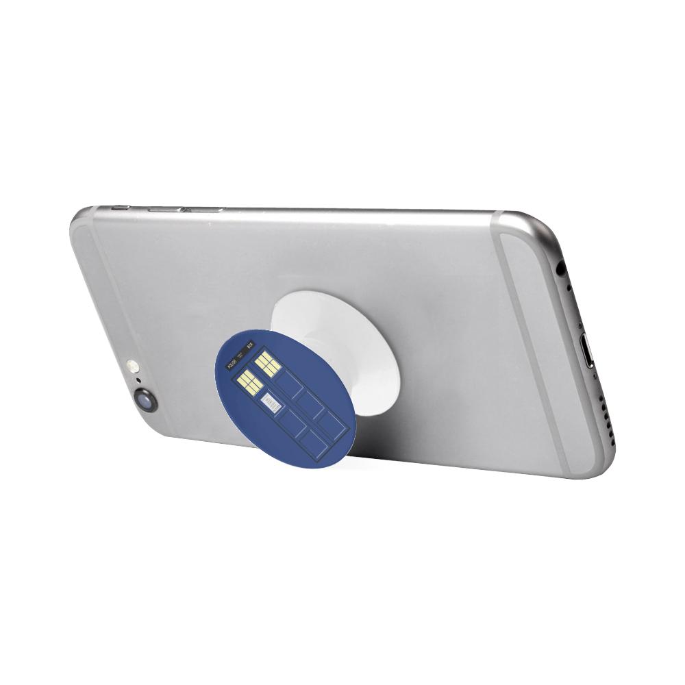 United Kingdom - Blue Police Public Call Box Costu Air Smart Phone Holder