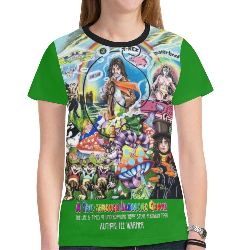 Steve Peregrin Took T-Shirt New All Over Print T-shirt for Women (Model T45)