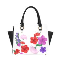 BUNCH OF FLOWERS Classic Shoulder Handbag (Model 1653)
