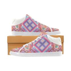 Researcher Women's Chukka Canvas Shoes (Model 003)