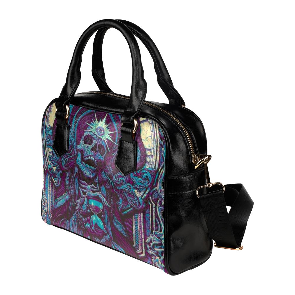 Death Skull Reaper Shoulder Handbag (Model 1634)