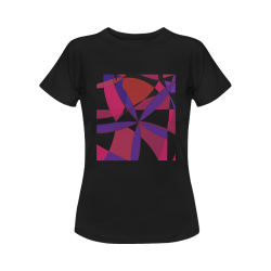Abstract #15 Oct. 2020 Women's T-Shirt in USA Size (Front Printing Only)