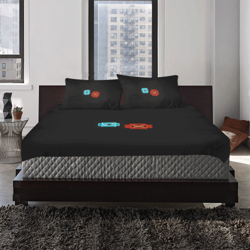 spiritsoul 3-Piece Bedding Set