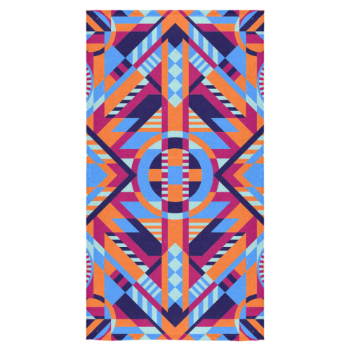 "Modern Geometric Pattern Bath Towel 30""x56"""