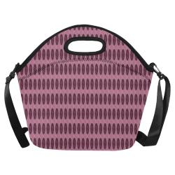 Berry Oval Mod Neoprene Lunch Bag/Large (Model 1669)