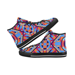 Modern Geometric Pattern Vancouver H Men's Canvas Shoes/Large (1013-1)
