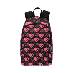 Hearts_Backpack Fabric Backpack for Adult (Model 1659)