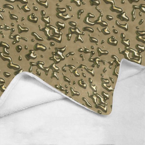 golden drops Ultra-Soft Micro Fleece Blanket 43''x56''