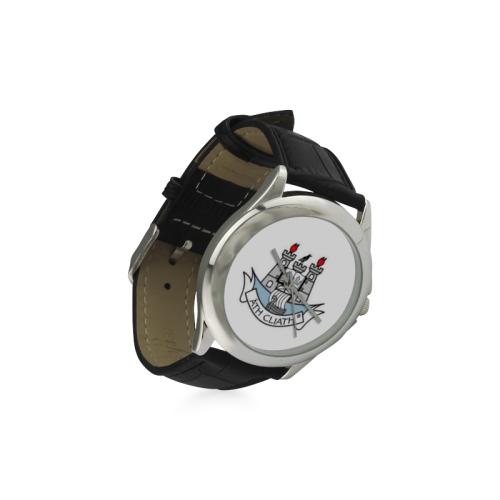 Ath Cliath Womens Watch Women's Classic Leather Strap Watch(Model 203)