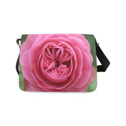 Rose Fleur Macro Messenger Bag (Model 1628)