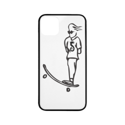 """Skateboard Rubber Case for iPhone 11 Pro Max 6.5"""""""