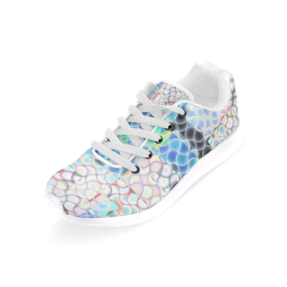 Blast-o-Blob #7A White by Jera Nour Women's Running Shoes (Model 020)