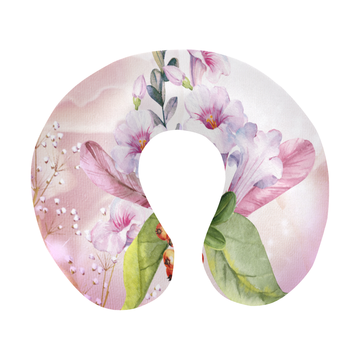 Wonderful flowers U-Shape Travel Pillow