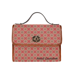 60st Waterproof Canvas Bag/All Over Print (Model 1641)