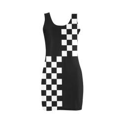 Ska Punk Quad 2Tone by ArtformDesigns Medea Vest Dress (Model D06)