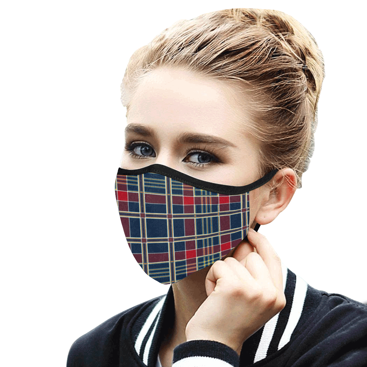 14tt Mouth Mask in One Piece (2 Filters Included) (Model M02) (Non-medical Products)