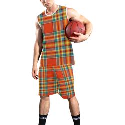 CHATTAN ANCIENT TARTAN All Over Print Basketball Uniform
