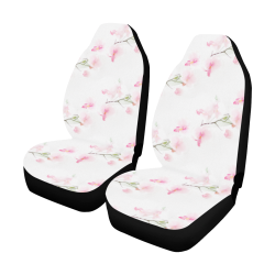 Pattern Orchidées Car Seat Covers (Set of 2)