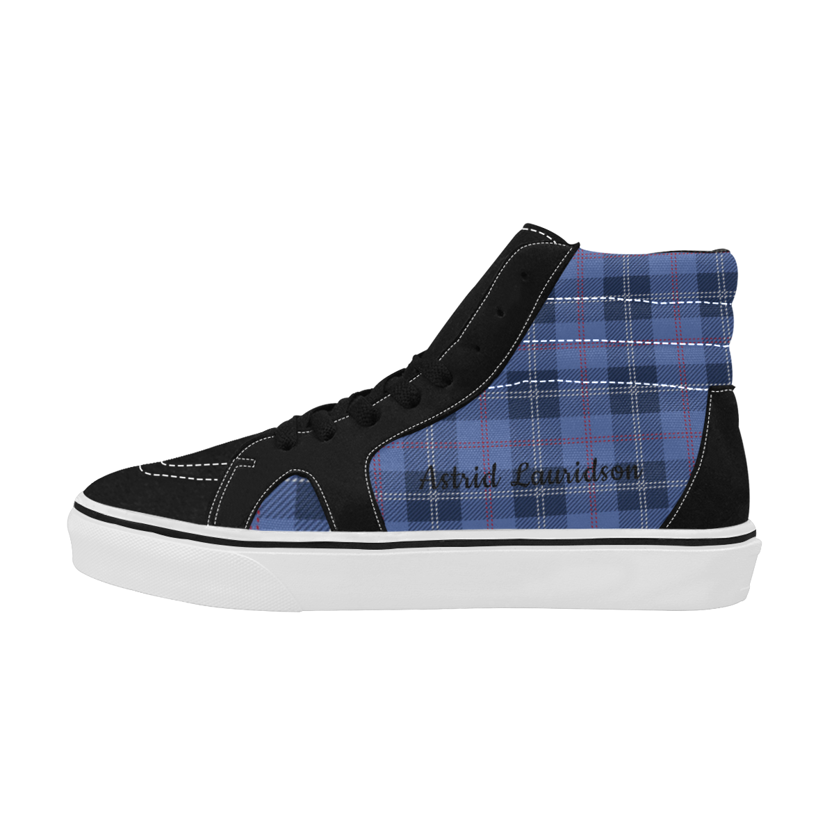 17tt Women's High Top Skateboarding Shoes (Model E001-1)