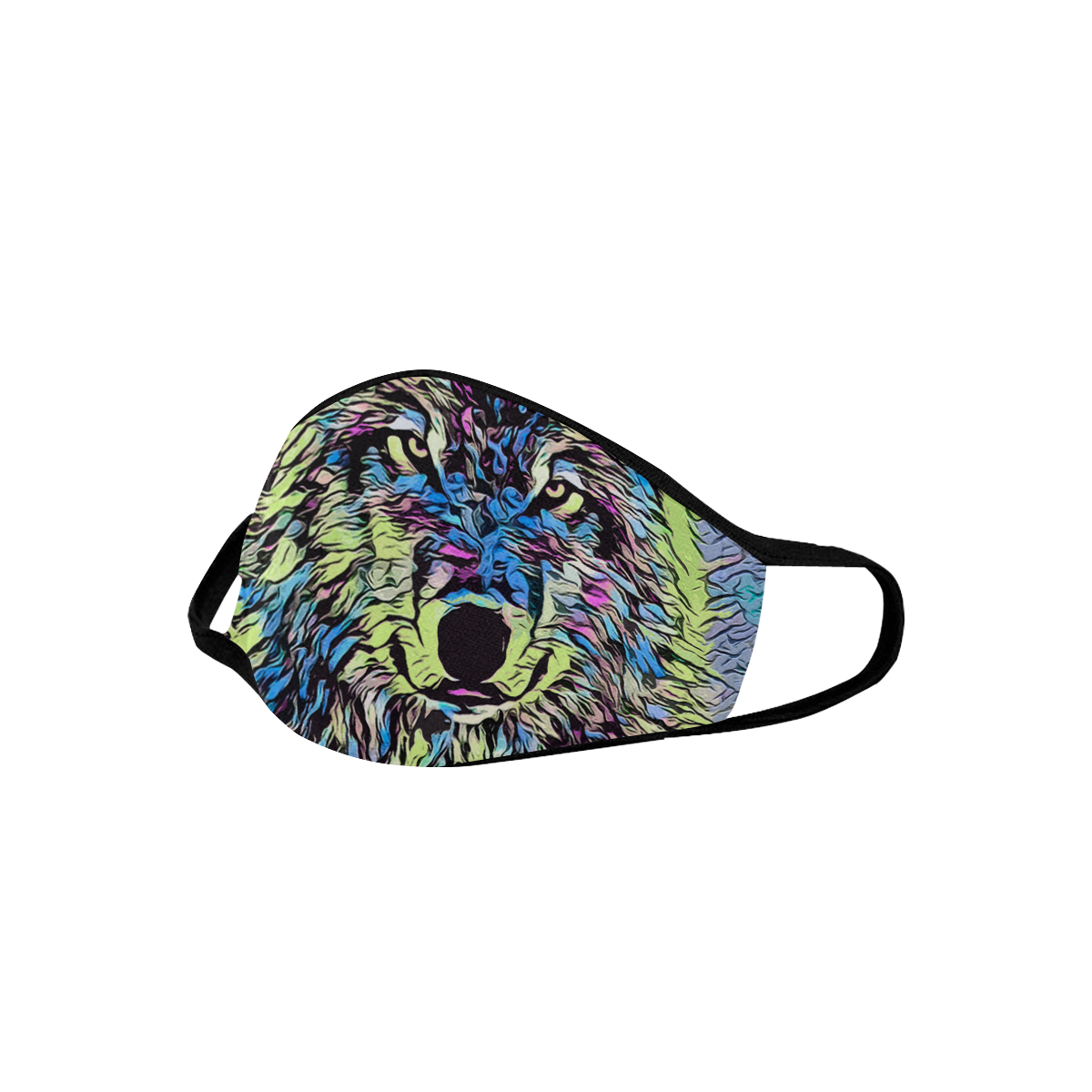 WOLF MULTICOLOR MASK II Mouth Mask