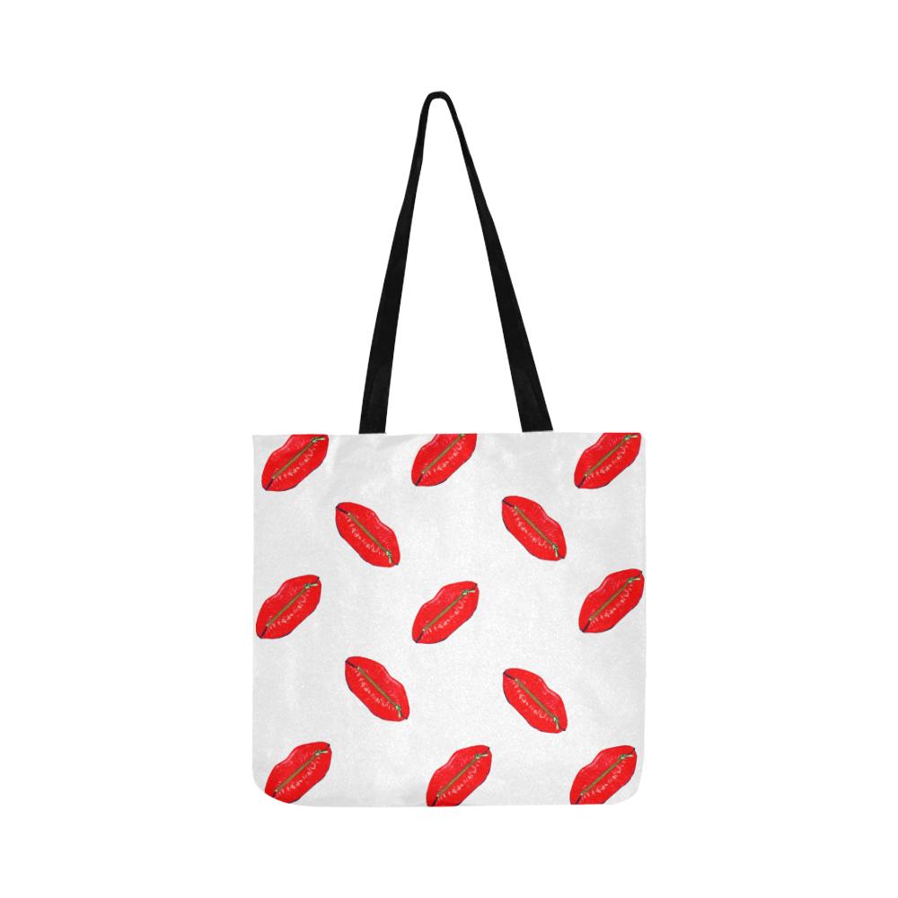 zipped lips Reusable Shopping Bag Model 1660 (Two sides)